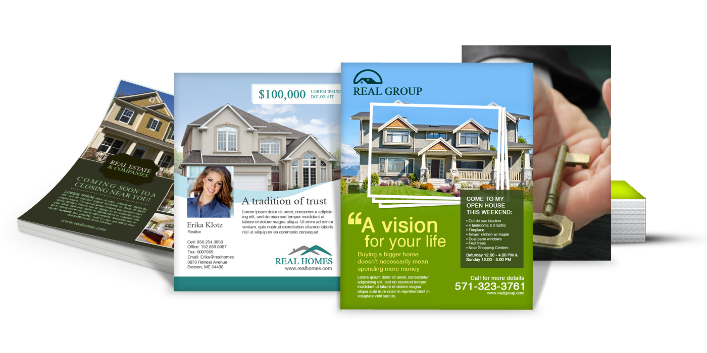 8.5 x 11 100lb Glossy Paper Flyer