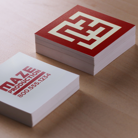 Custom square business cards uprinting for Custom square business cards