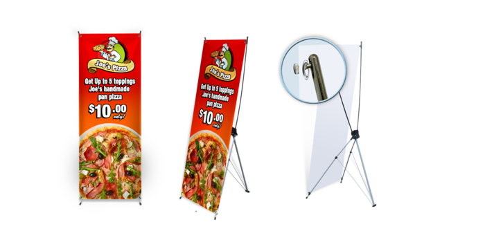Promotional X-Banner Stands