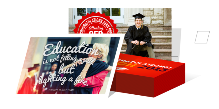 Graduation Postcards