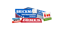 Cut-to-Size Campaign & Political Stickers