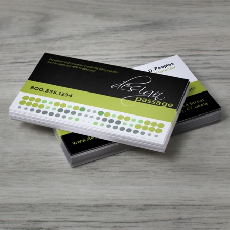Standard Business Card Printing Custom Options