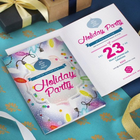 custom folded invitations uprinting