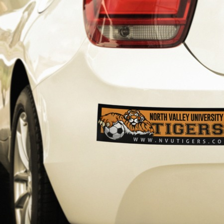 Bumper sticker printing make your own car stickers uprinting