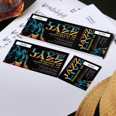 Event Ticket Printing  Concert Ticket Design