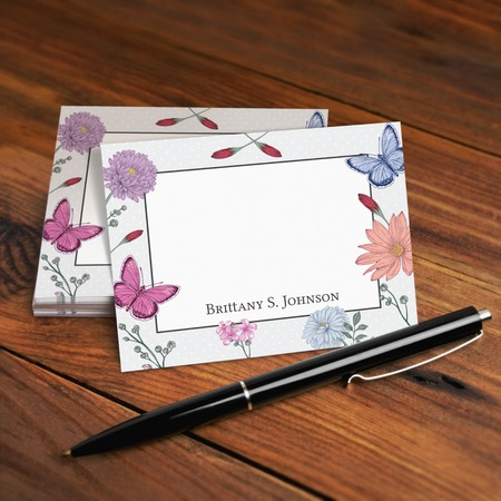 custom note cards uprintingcom - Note Cards