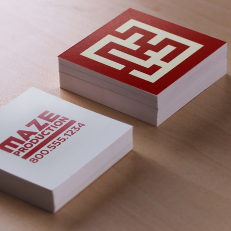 Square Business Cards - Custom Print Options | UPrinting