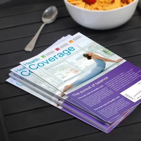 roll fold brochure template - bi fold brochure printing