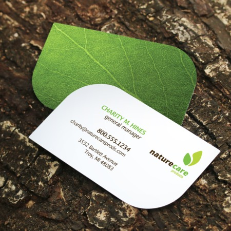Print leaf business cards reheart Images