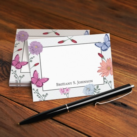 print note cards online