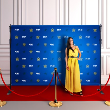 Step And Repeat Banners Red Carpet Banners UPrintingcom - Step and repeat template