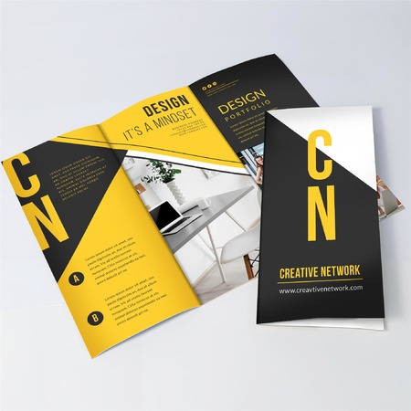 brochure printing and design - tri fold brochure printing